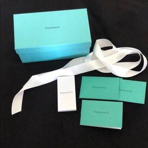 Tiffany Sunglass Box, authenticity insert, ribbon
